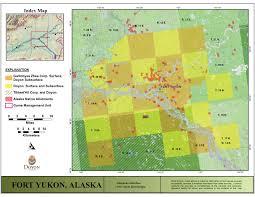 Yukon River Map Doyon Limited Fort Yukon