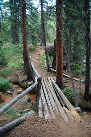 Colorado Springs Trail Map by Elk Park Trail Barr Trail Pikes Peak Colorado