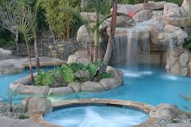 Waterfall In Backyard Breathtaking Pool Waterfall Design Ideas