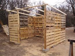 How To Build A Simple Wood Storage Shed by Wood Pallet Shed Project