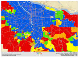 Portland Zip Codes Map by Oregon Republicans Seek To Split Portland From Its Suburbs In