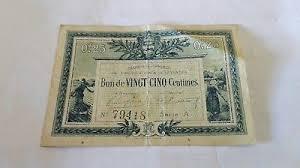 chambre de commerce la roche sur yon 25 centimes chambre de commerce de la roche sur yon 1916 eur 1 00