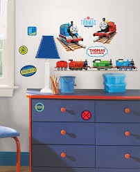 Thomas The Train Twin Sheet Set by Roommates Rmk1831scs Thomas The Tank Engine Peel And Stick Wall