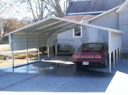 Car Port Roof 18x31x9 Utility Carport With Vertical Roof