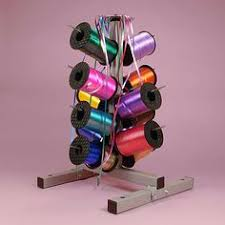 ribbon dispenser 20 spool retail curling ribbon dispenser stand black 29 x 6