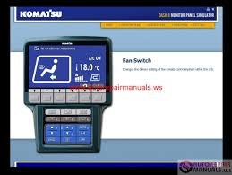 komatsu pc200 8 monitor panel simulator auto repair manual forum