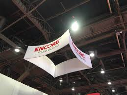 square hanging banners for trade shows exhibitions retail