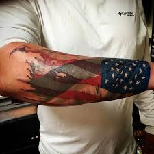 53 best american flag tattoos for men images on pinterest flags