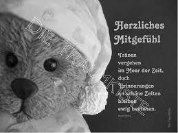 trauerkarte sprüche trauer beileid trauerkarte teddy träne tc0026 ein