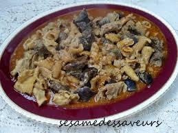 cuisiner les tripes tripes à la marocaine le sésame des saveurs