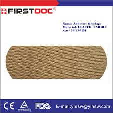 Comfort Medical Supplies China Medical Supply Adhesive Tape 56x19mm Elastic Fabric Band Aid