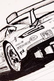 sports cars drawings a different test of endurance 24 hours of drawing the 24 hours of