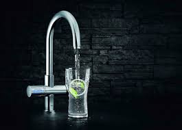combining the modern look of a designer faucet with a high
