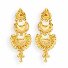 earrings in grt earrings gold fancy umbrella drops grt jewellers indian
