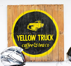 Yellow Truck Coffee yellow truck helenysm