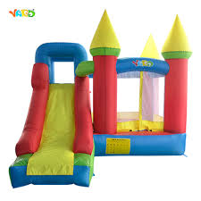top grade kids play games inflatable bouncy castle bouncer