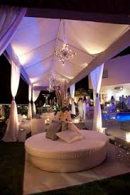 Cocktail Party Reception - who said outdoor weddings couldn u0027t be chic and glamorous love
