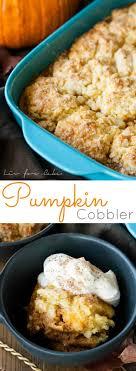 pumpkin cobbler liv for cake