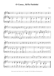 o come all ye faithful sheet music for violin free violin sheet