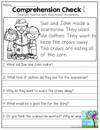 stories for comprehension scary cards free printable stories with