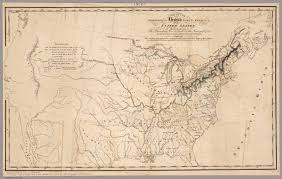 Northern America Map by Map Of The Frontier Of British North America And The United