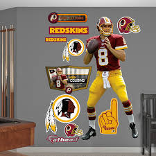 amazon com nfl washington redskins kirk cousins big wall decal