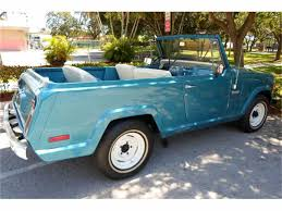 jeep jeepster 2015 1973 jeep jeepster commando for sale classiccars com cc 758417