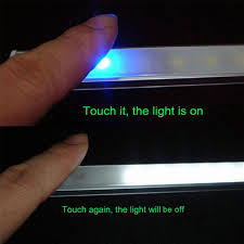 4pcs 50cm led touch sensor bar light night lights dimmable 36 led