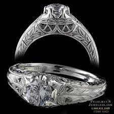platinum vintage rings images Pearlman 39 s 1930 vintage jewelry platinum edwardian diamond ring jpg