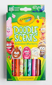 18 count doodle scents scented markers what u0027s inside the box
