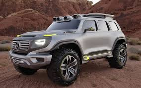 4x4 mercedes the 4x4 of the future telegraph