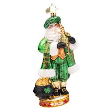 radko ornaments christopher radko ireland celtic pride ornament