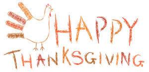 happy thanksgiving from sunset pediatrics