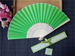 custom hand fans no minimum free shipping personalized silk hand fans with laser cut boxes j s
