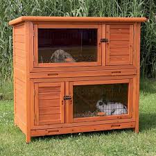 Rabbit Shack Hutch Trixie 2 In 1 Insulated Rabbit Hutch Free Shipping Today