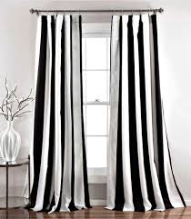 Ikea Striped Curtains Outstanding Black White Curtains 37 Walmart White Blackout