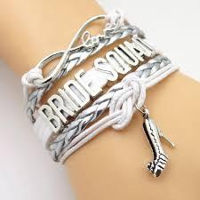 bracelet infinity love images Infinity love bride squad wedding bracelets blue lion jewels jpg
