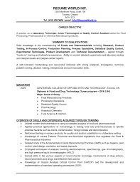 Resume Key Skills Examples Microbiology Resume Resume For Your Job Application