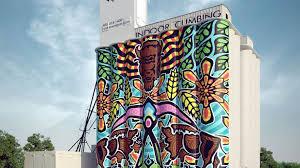 Murals Custom Hand Painted Wall Murals By Art Effects Silo Art Project By Rick Sinnett Kickstarter