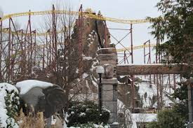 9 photos of kings dominion covered in snow wtvr com