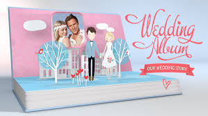 where to buy wedding albums wedding album pop up story popup template and album