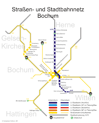 Berlin Metro Map by Stadtbahn Bochum Metro Map Germany