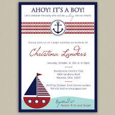 nautical baby shower invitations baby shower invitations nautical lovely ahoy its a boy nautical baby