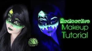 Radioactive Halloween Costume Radioactive Black Light Halloween Makeup Tutorial 31