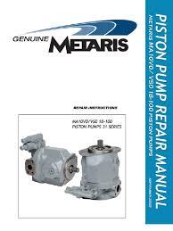 a10vso repair manual bearing mechanical pump