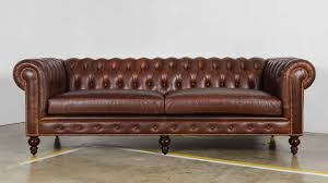 Chesterfield Leather Sofa by Outlet Cococo Home