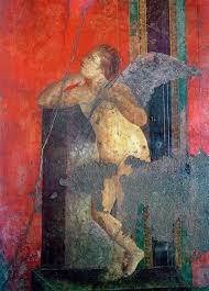 pompéi villa des mysteres triclinium chambre scène d