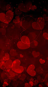 red hearts art android wallpaper android hd wallpapers