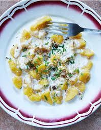 cuisiner des gnocchis gnocchis au potimarron sauce nectaire pour 4 personnes