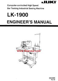 juki lk 1900 service manual
